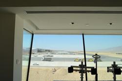מראה מתוך מגדל הפיקוח