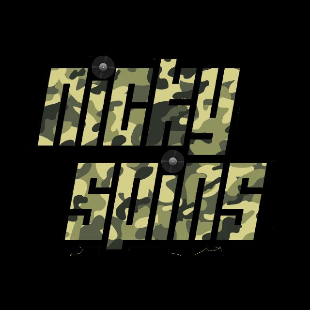 DJ Nicky Spins- Camo Logo