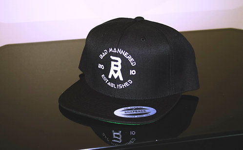 Bad Mannered Est. Snapback (Black)
