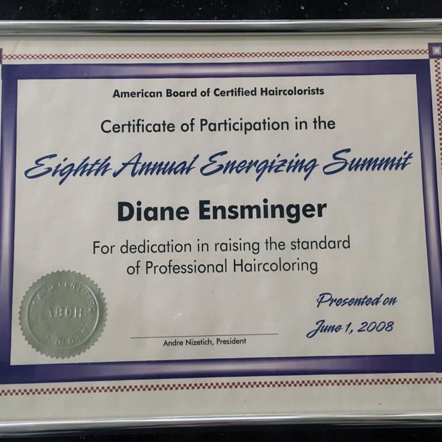 Eighth Annual Energizing Summit Cert