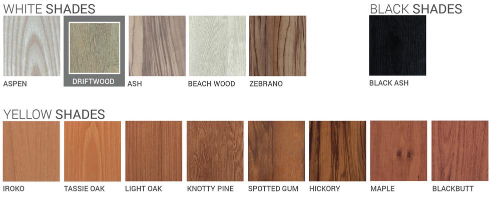Wood Cladding Shades