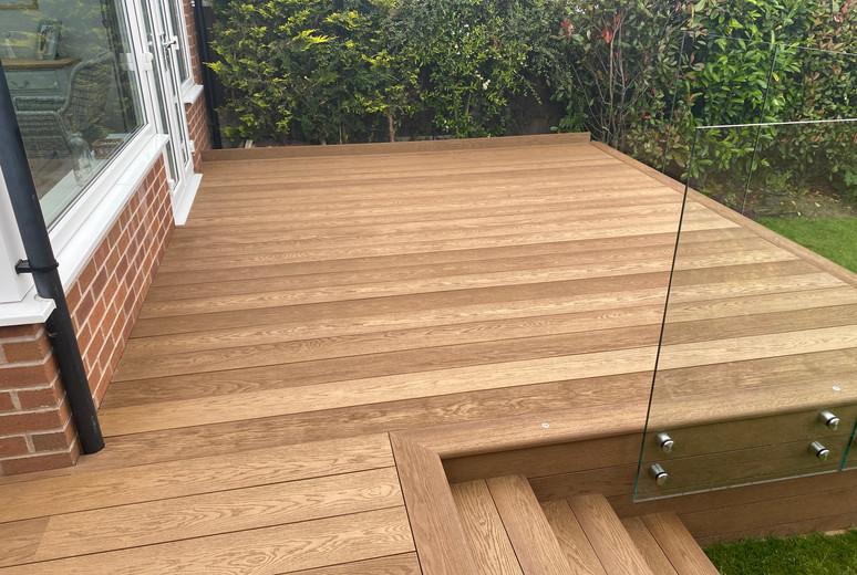 Enhanced Grain - Coppered Oak