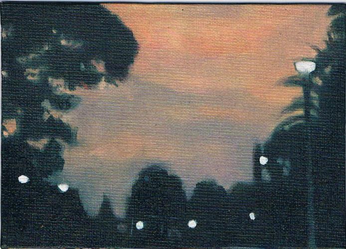 'Bloodworth Farm 5' 2011, oil on canvas