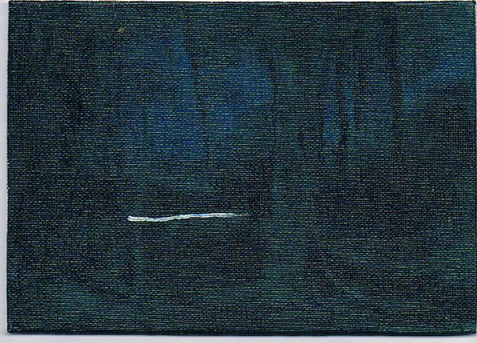 'Grand Drive 2' 2011, oil on  canvas boa