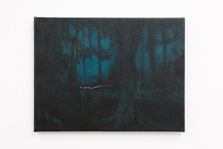 Gilbert Grace 'Grand Drive 2' 2011 oil o