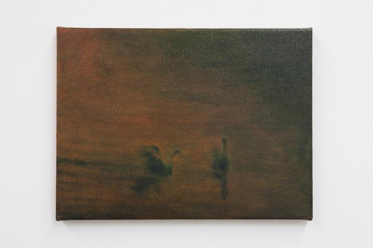 Gilbert Grace 'Duck Pond' 2011 oil on co