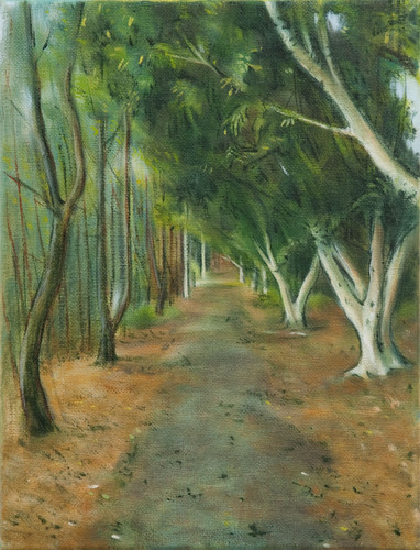 Gilbert Grace_'Arbour'_2010_oil on cotto