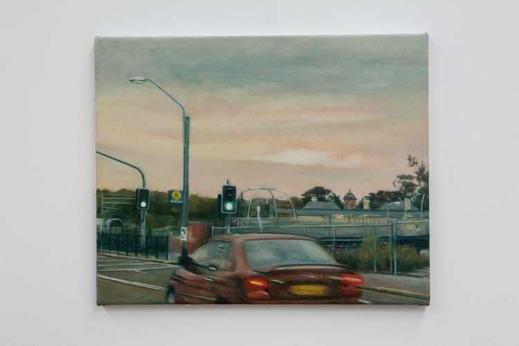 Gilbert Grace 'Cockatoo' 2011 oil on cot