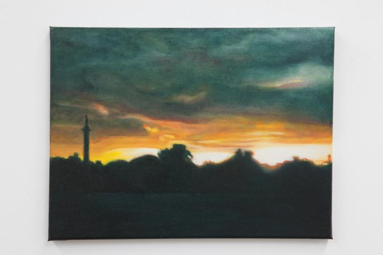 Gilbert Grace 'Busby Pond' 2011 oil on c