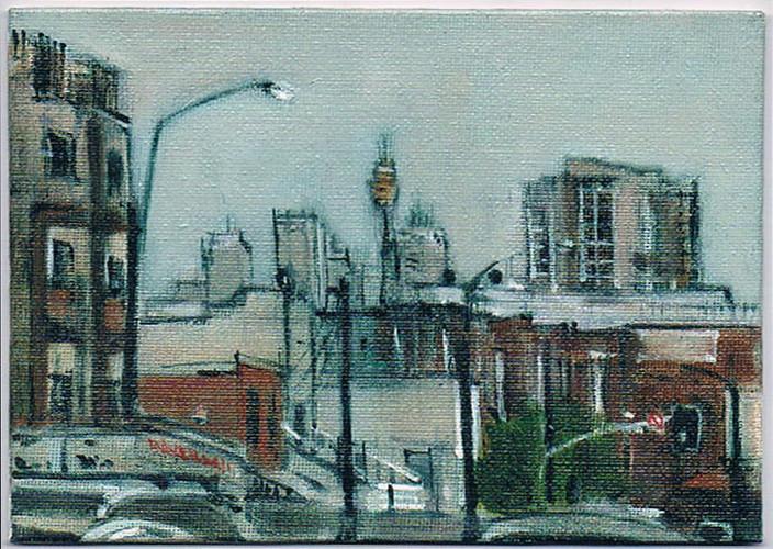 'Gateway Drug' 2011, oil on canvas board