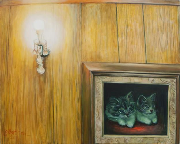 Gilbert Grace_'Collisions'_2011_Oil on c