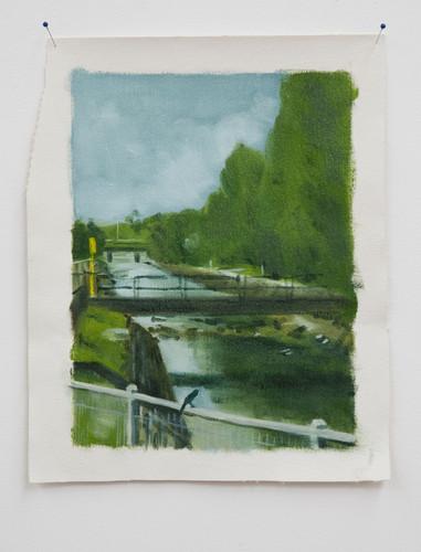 Gilbert Grace 'Little Bird' 2011 oil on