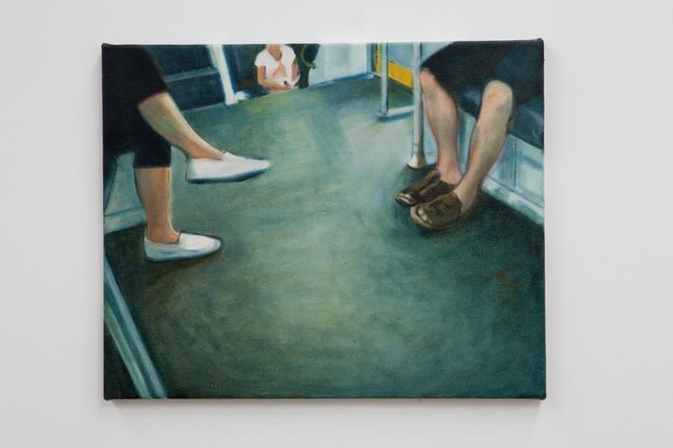 Gilbert Grace 'Commute' 2011 oil on cott