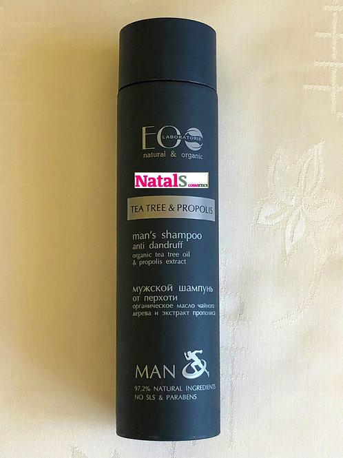 EOLaboratorie Man Szampon do włosów przeciwłupieżowy 250ml