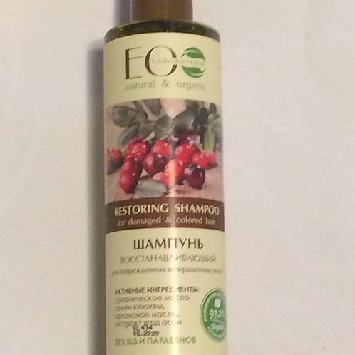 EO LAB szampon regenerujący farbowane włosy