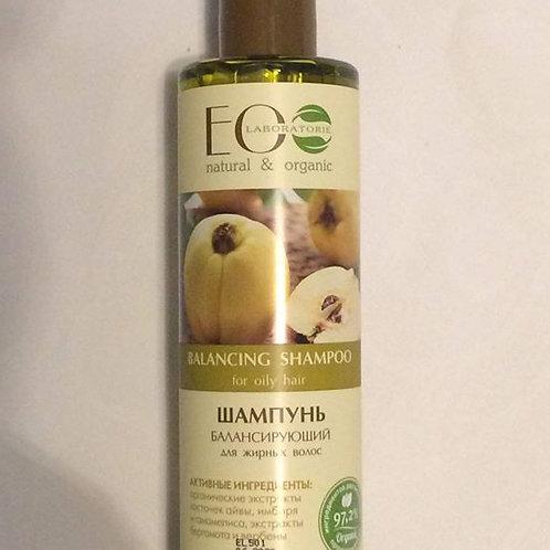 EO LAB Zrównowazony szampon do tłustych włosów