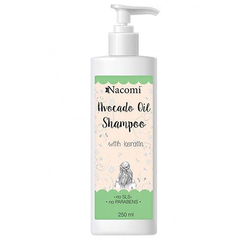 Odżywczy szampon do włosów z olejem avocado