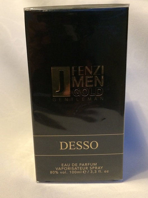 DESSO MEN Gold Gentleman eau de parfum 100 ml J'Fenzi