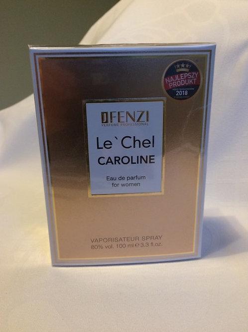 Le' Chel CAROLINE eau de parfum for women 100 ml J' Fenzi