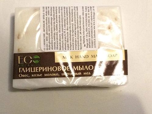 EO LAB naturalne mydło glicerynowe - mleko i miód