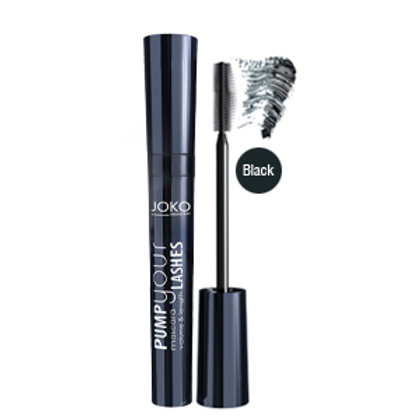 Mascara PUMP your LASHES BLACK
