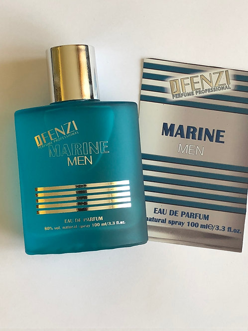 MARINE MEN eau de parfum 100 ml J'Fenzi
