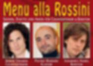 Menu alla Rossini - Szenen, Duette und Arien für Countertenor und Bariton mit Armin Gramer, Johannes Hanel und Pietro Mariani
