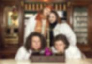 Der Apotheker (Lo Speziale) - Iza Kopec, Armin Gramer, Martin Mairinger, Johannes Hanel, Nana Masutani und Ulla Pilz