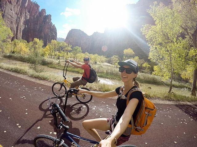 Zion Canyon Biking