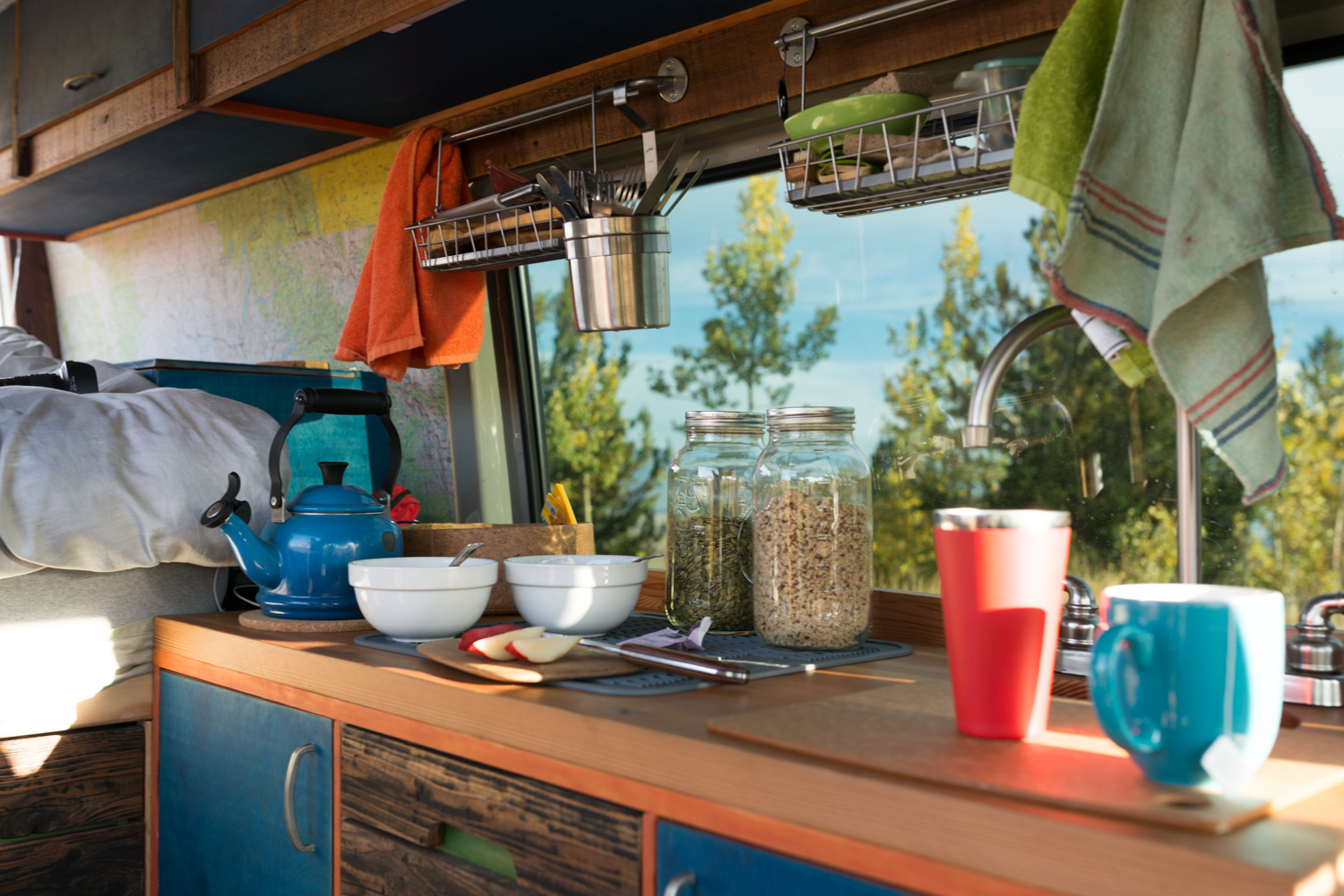 5 Things We Couldn T Live Without In Our Van Kitchen