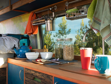 5 Things We Couldn't Live Without in our Van Kitchen