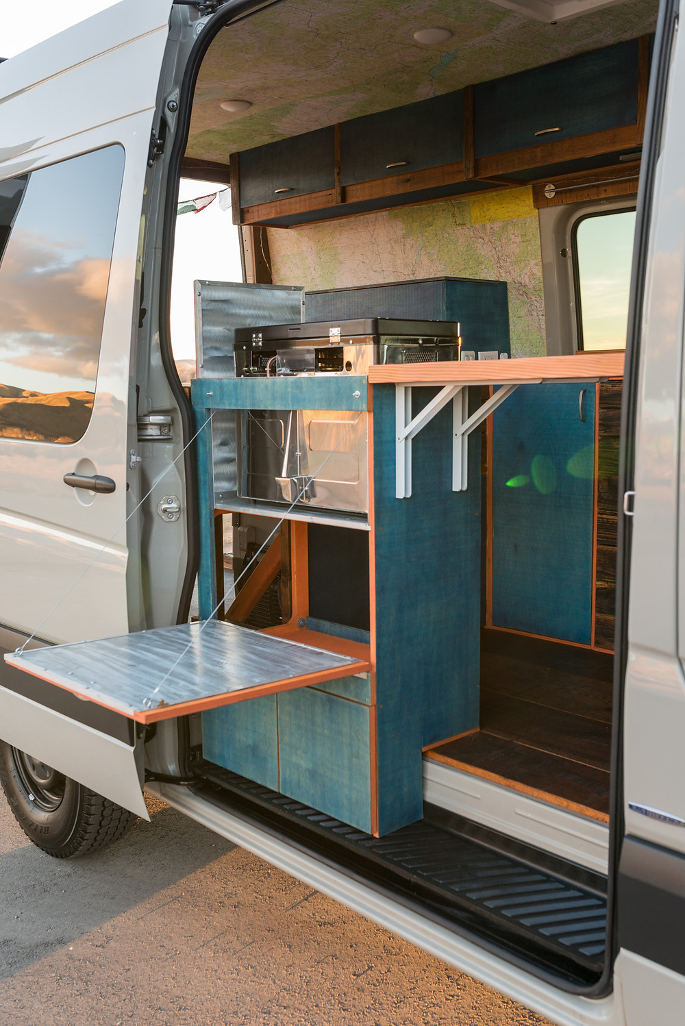 DIY Campervan Cabinets with FSC Certified and Reclaimed Materials