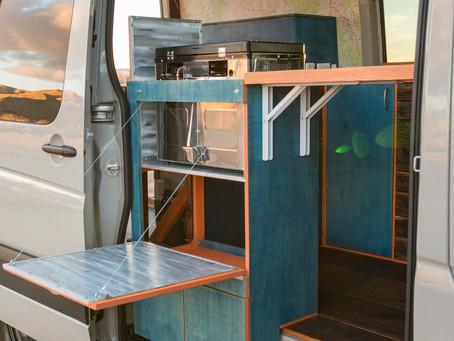 Building a Sliding Door Cabinet for a Sprinter Van