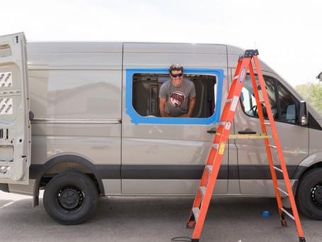Adding Windows to a Sprinter Van Conversion