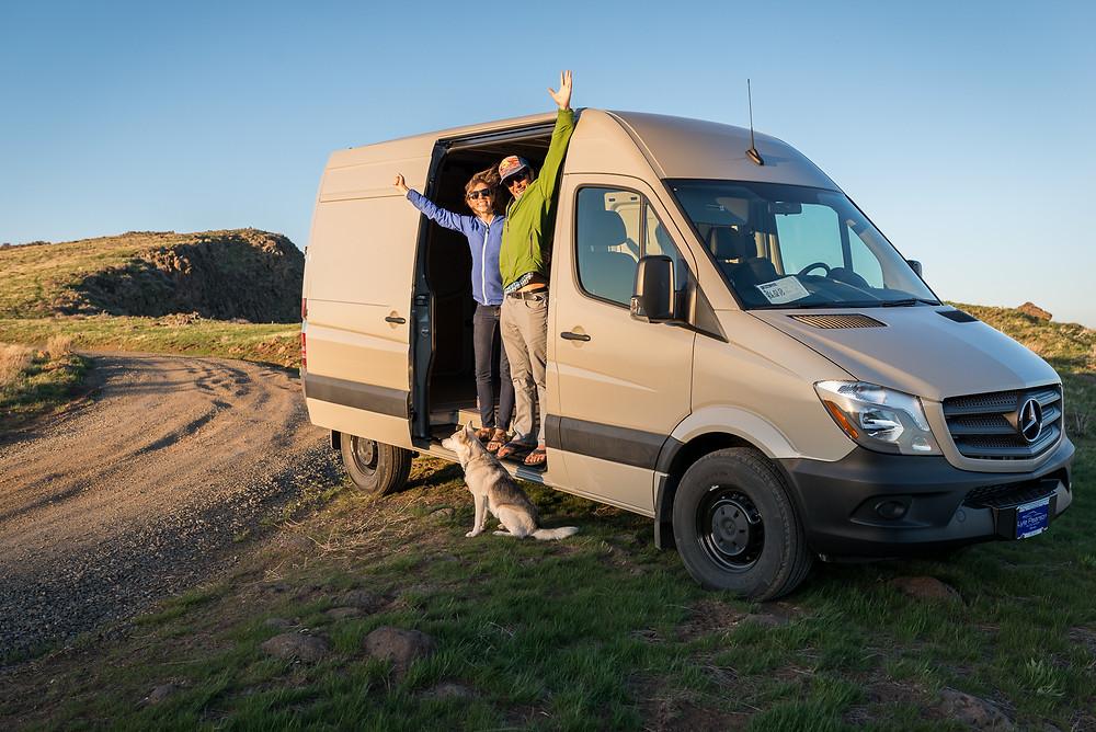 Our Sprinter Van Conversion