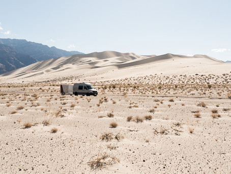 The Long Road to the Eureka Dunes