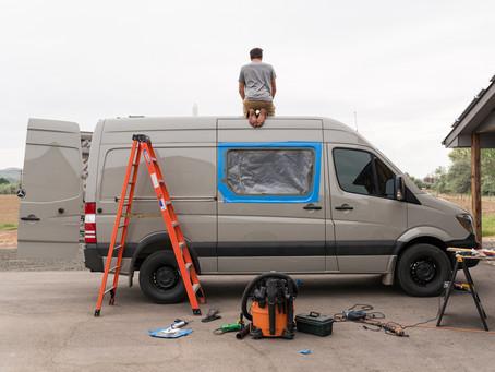 Our DIY Sprinter Campervan Conversion