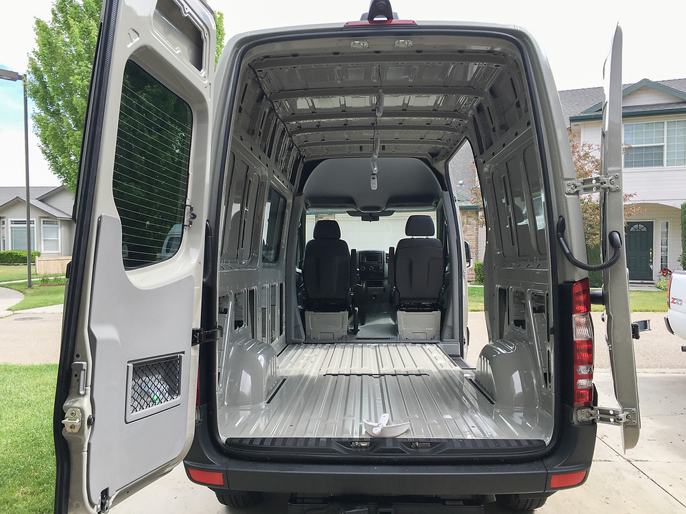 Sprinter Van buildout: what to do first