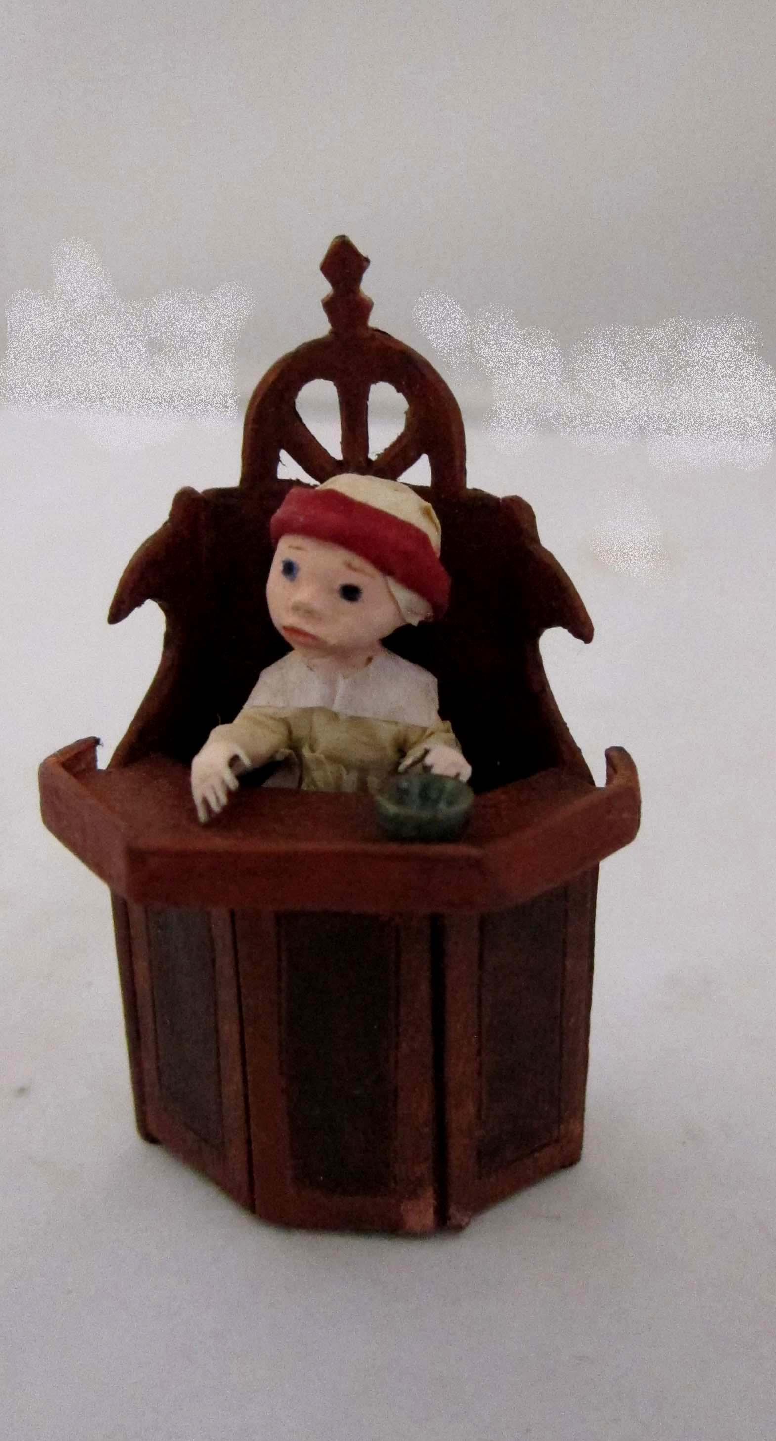 Baby chair from a Dutch painting