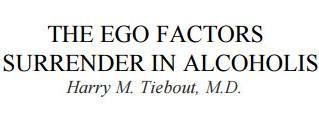 THE EGO FACTORS