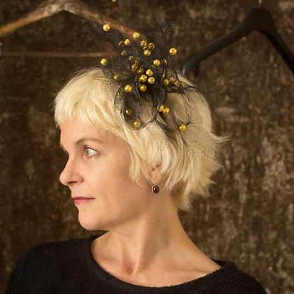 Gold Fascinator - Galaxy Collection #6