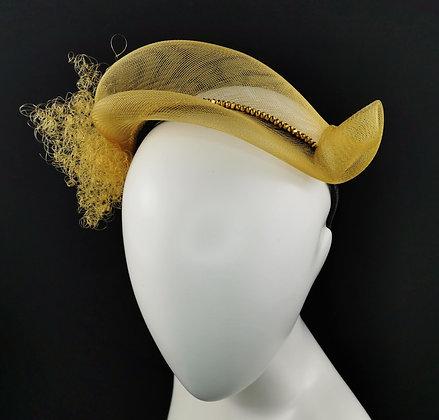Gold Glitter Headpiece