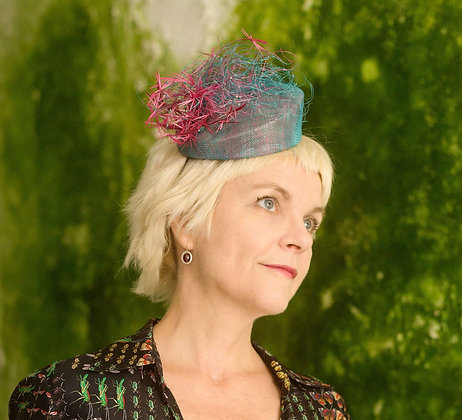 Blue Pink Percher - Seaweed Collection
