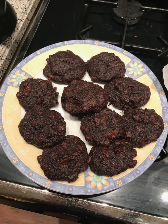 #OwenCooks: Low-Carb Double Chocolate Cookies