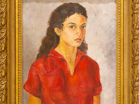 บทความในสูจิบัตร ๕ ศิลปินสตรีกับบทบาทแห่งการสร้างสรรค์งานทัศนศิลป์ของไทย