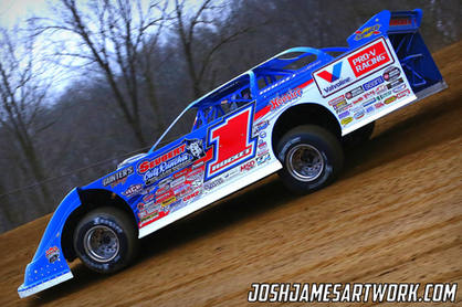 Brandon Sheppard at Atomic Speedway