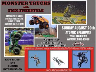 Monster Trucks Rescheduled