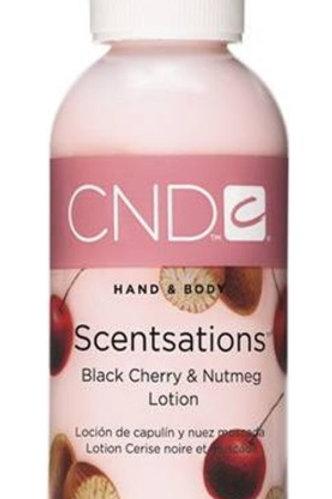 Crema de manos aroma Cereza negra y nuez moscada