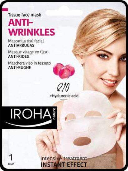 ANTIARRUGAS - Q10 - Mascarilla Facial Tisú