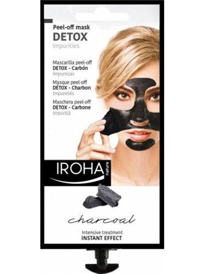 Mascarilla facial Negra - DETOX - Carbón